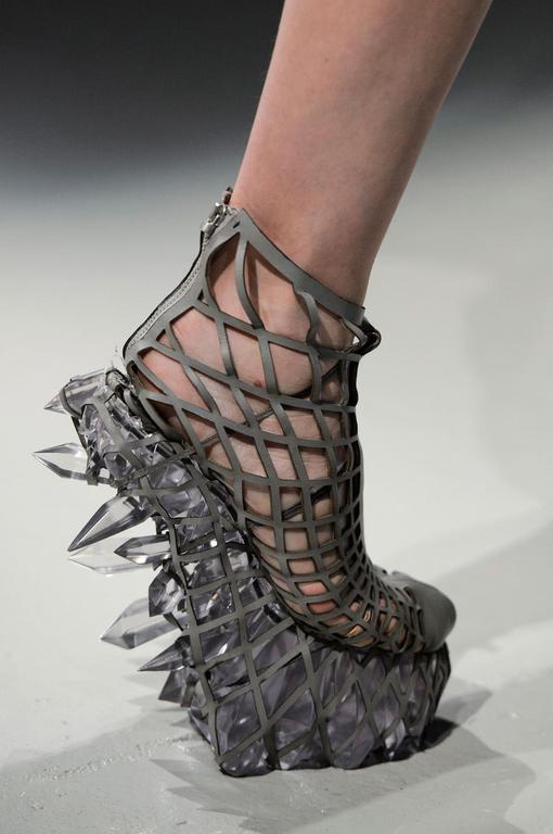 Le sandales reine des neiges.