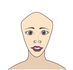 visage-triangle-haut