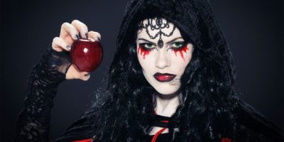 Halloween Tuto Dossier Maquillage Reine De