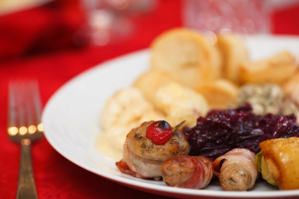 christmas-food-on-a-plate