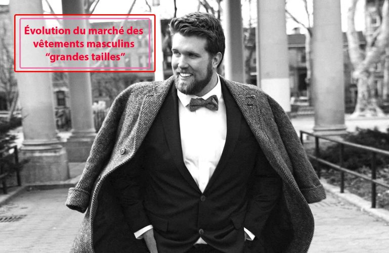 Le marché des vêtements masculins « grandes tailles » lutte pour prendre de l'ampleur.