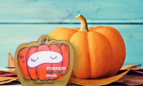 Halloween et citrouille : le nouveau masque qui fait sensation !