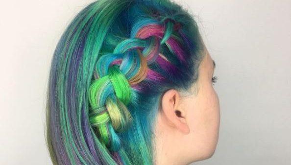 """""""Pravana vivids"""" : une couleur des cheveux qui change avec la température !"""