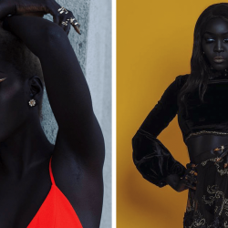 rencontrez-la-reine-du-noir-une-femme-sud-soudanaise-de-24-ans-à-qui-on-a-demandé-de-blanchir-sa-peau-41207