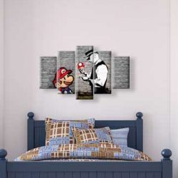 38205222 - interior of boy's room. 3d render.