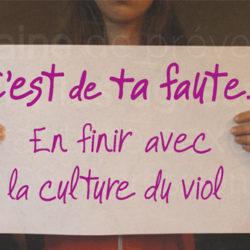 C'est quoi la culture du viol ?
