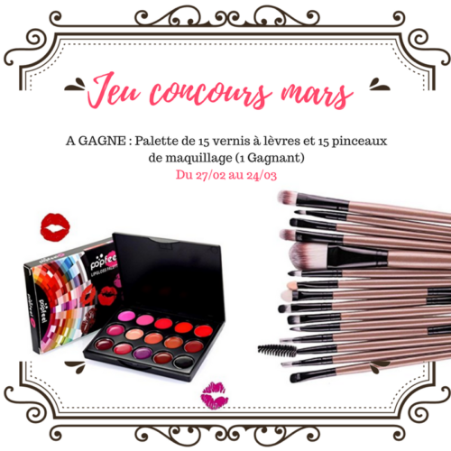 Concours mars 2018
