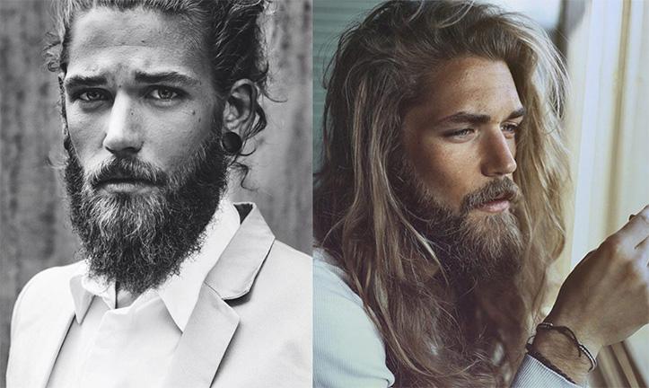 Pourquoi les femmes aiment les hommes qui ont les cheveux longs !