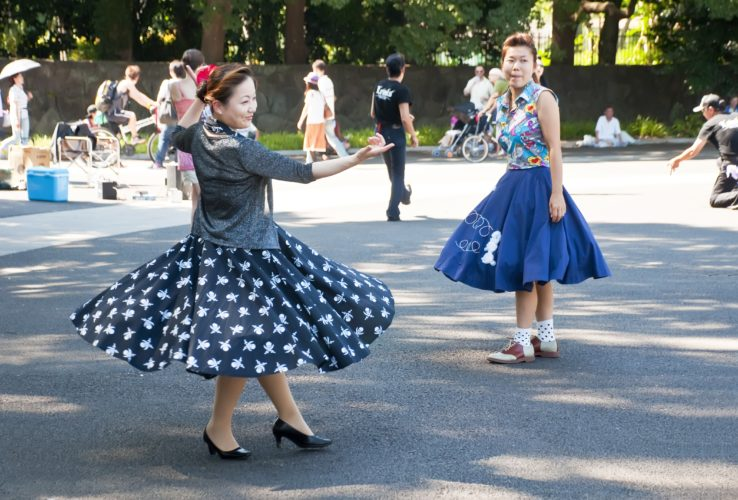 Au Japon, le rockabilly a la côte !