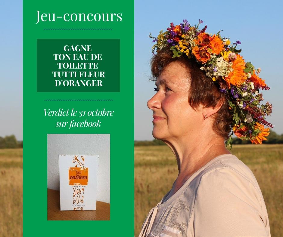 Jeu-concours Octobre Parfum TUTTI
