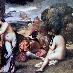 L'art tout en rondeurs : le concert champêtre du peintre Giorgione !