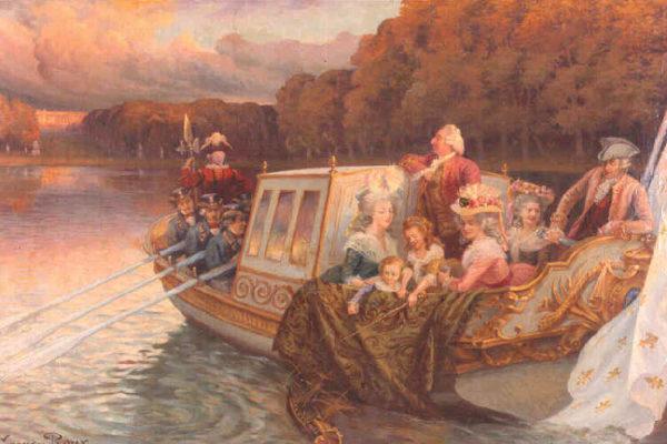 Art : le canot de plaisance de Marie-Antoinette.