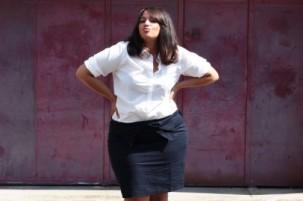 Femmes rondes : la jupe crayon !
