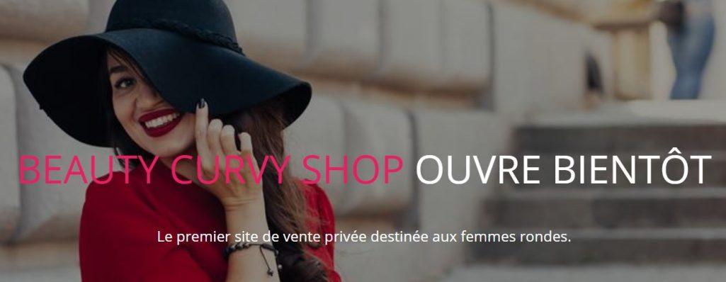 Beauty curvy shop : premier site de ventes privées pour les rondes !