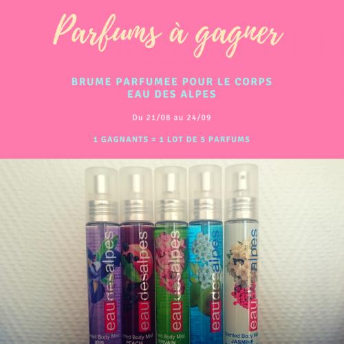 Jeu concours : parfums à gagner !