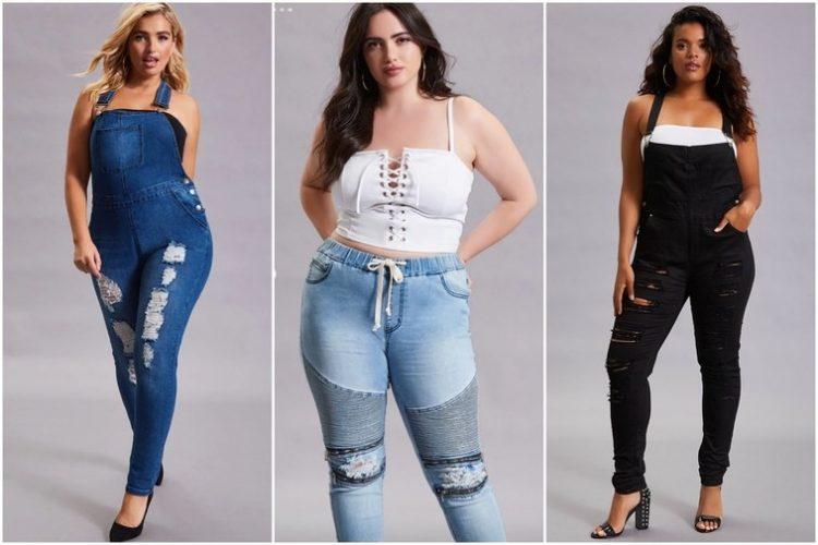 Les jeans Forever 21+ adaptés aux corps des femmes.