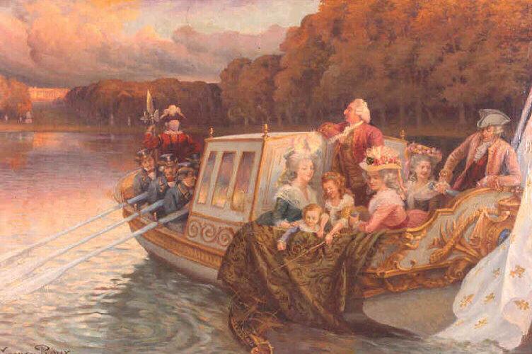 canot de plaisance de Marie-Antoinette
